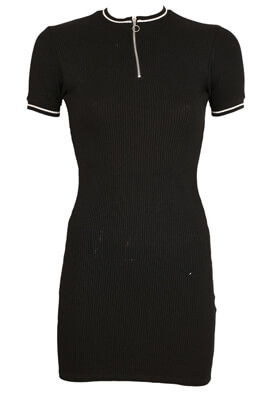 Rochie Pull and Bear Francesca Black