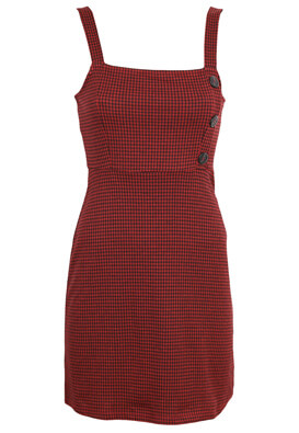 Rochie Pull and Bear Charlotte Dark Red
