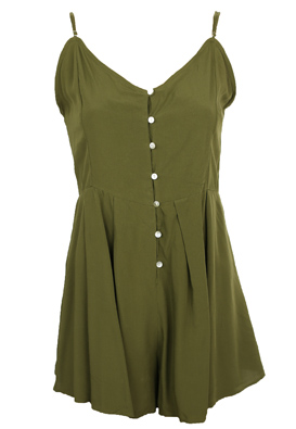 Salopeta Pull and Bear Ivy Dark Green