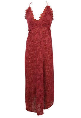 Rochie Pull and Bear Dollie Dark Red