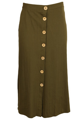 Fusta Pull and Bear Wendy Dark Green