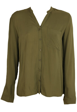 Camasa Pull and Bear Anna Dark Green