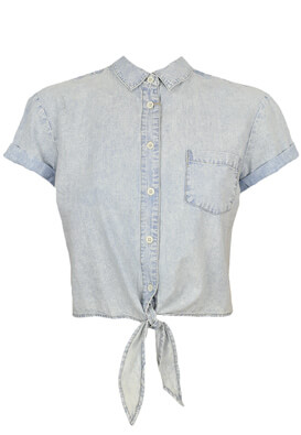 Camasa Pull and Bear Joyce Light Blue