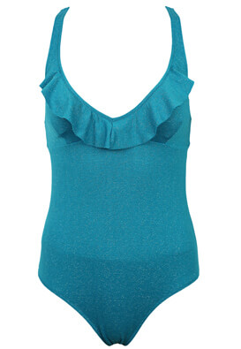 Costum de baie Rouge Gorge Gina Turquoise