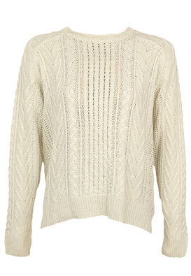Pulover Pull and Bear Julia White