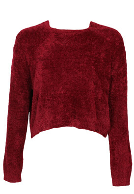 Pulover Pull and Bear Amelia Dark Red