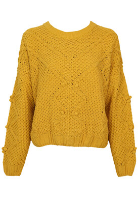 Pulover Pull and Bear Dasia Dark Yellow