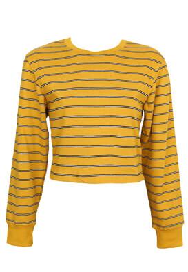 Bluza Pull and Bear Dalida Dark Yellow
