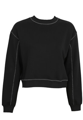 Bluza Pull and Bear Wendy Black