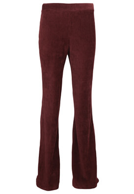 Pantaloni Pull and Bear Farah Dark Red