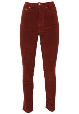 Pantaloni Pull and Bear Victoria Dark Brown