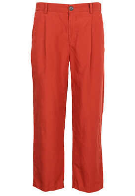 Pantaloni Pull and Bear April Dark Red