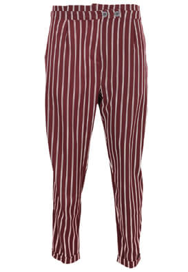 Pantaloni Pull and Bear Alessia Dark Purple