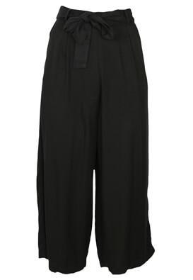 Pantaloni Pull and Bear Ashley Black