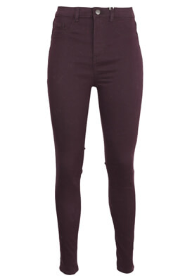Blugi Pull and Bear Vera Dark Purple