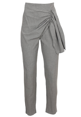 Pantaloni Pull and Bear Daisy Grey