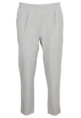 Pantaloni Pull and Bear Diana Light Grey