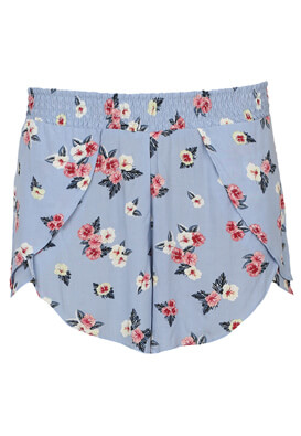 Pantaloni scurti Pull and Bear Berta Light Blue