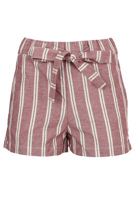 Pantaloni scurti Pull and Bear Sheena Dark Pink