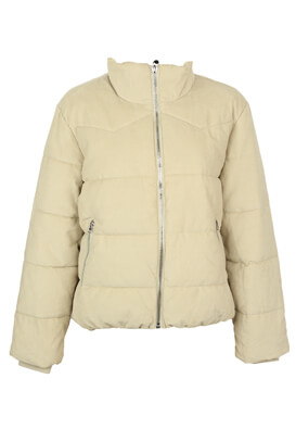 Geaca Pull and Bear Aimee Light Beige