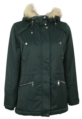 Geaca Pull and Bear Elsa Dark Green