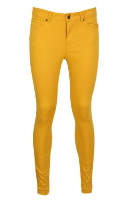 Pantaloni Vero Moda Brenda Dark Yellow