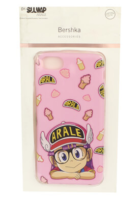 Husa telefon Bershka IPhone6/6S/7/8 Pink