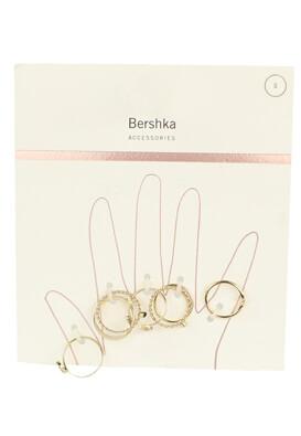 Set inele Bershka Amelia Golden