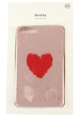 Husa telefon Bershka IPhone6Plus/7Plus/8Plus Light Pink
