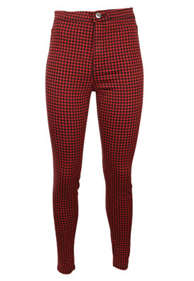Pantaloni Bershka Nastasia Red