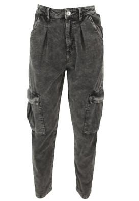 Pantaloni Bershka Michelle Dark Grey