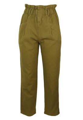 Pantaloni Bershka Felicity Dark Green