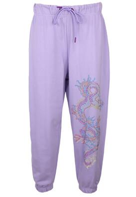 Pantaloni sport Bershka Gina Light Purple