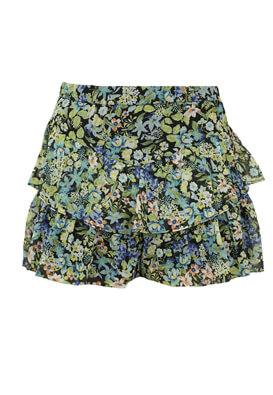 Pantaloni scurti Bershka Floral Green