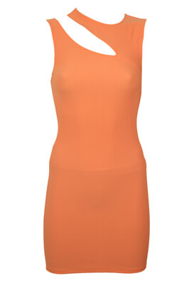 Rochie BSK Gina Light Orange