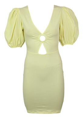Rochie BSK Anya Yellow