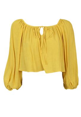Bluza Bershka Barbra Yellow