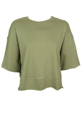 Tricou ZARA Aya Dark Green