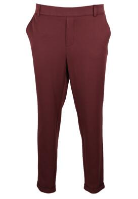 Pantaloni Vero Moda Victoria Dark Purple