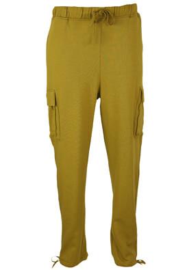Pantaloni sport Vero Moda Vanessa Dark Yellow