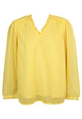 Bluza Vero Moda Dory Yellow