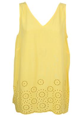 Tricou Vero Moda Gloria Yellow