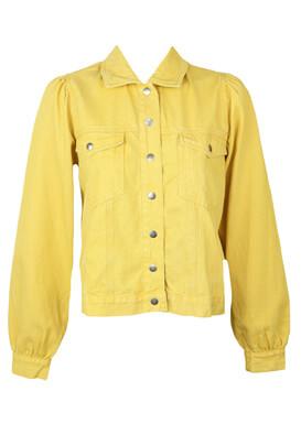 Geaca blugi Vero Moda Carmen Yellow