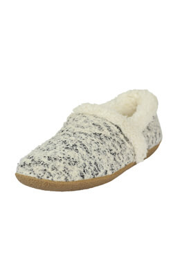 Papuci de casa TOMS Roxanne Light Grey
