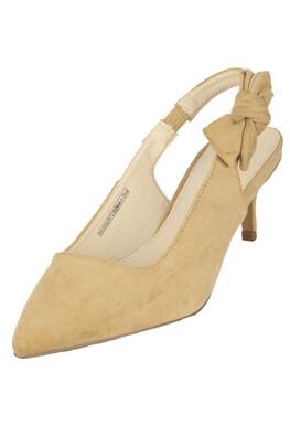 Pantofi Orsay Yvonne Beige