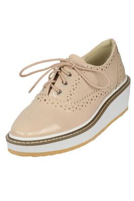 Pantofi Orsay Irene Light Beige