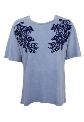 Tricou ZARA Dahlia Light Blue