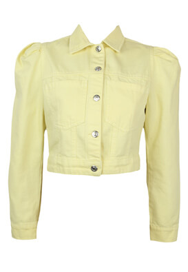 Geaca blugi BSK Valentina Light Yellow