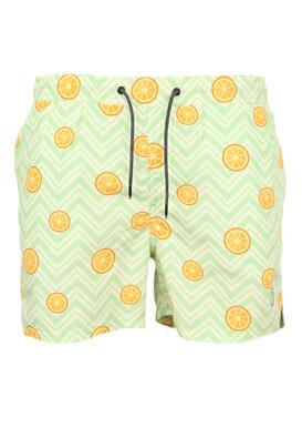 Pantaloni scurti de baie Jck and Jo Paul Light Green
