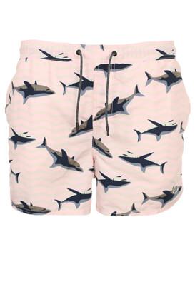 Pantaloni scurti de baie Jck and Jo Oscar Light Pink